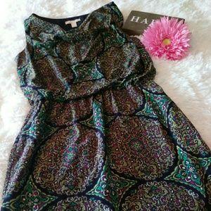 Banana Republic sleeveless blouson dress size 12